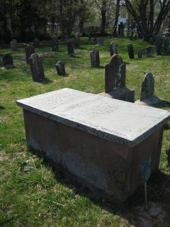 barnabas horton grave